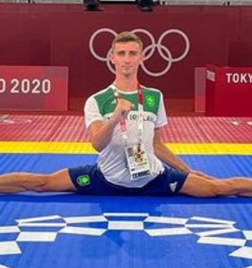 PHOTOS: 22-year-old Irish Taekwondo star Jack Woolley isn't messing around