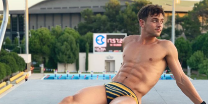 PHOTOS: Gold medalist Tom Daley has a vast collection of Speedos