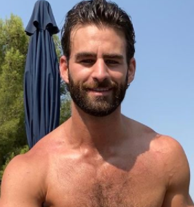 Chris Salvatore is the latest gay celeb to bare his…soul…on OnlyFans