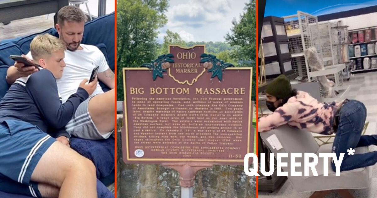 The gay furniture test, Gus Kenworthy's Tokyo cruise, & the Big Bottom massacre