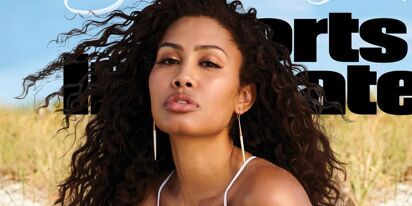 Trans model Leyna Bloom shares reaction after historic Sports Illustrated swimwear cover