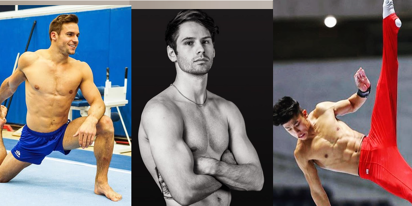PHOTOS: The U.S. men's gymnastics team are walking, talking thirst traps