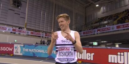 Olympic runner Tom Bosworth tells his fellow athletes: time to come out