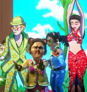 WATCH: Elton John & Dua Lipa go full Rocketman fantasia
