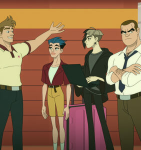 Gabe Liedman on bringing animated full-frontal to 'Q-Force'