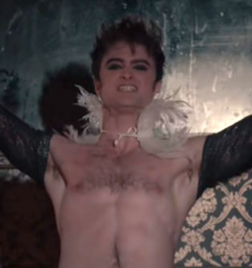 WATCH: Daniel Radcliffe gives off super-gay 'Rocky Horror' vibes in assless chaps
