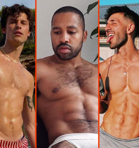 Shawn Mendes' short shorts, Nyle DiMarco's speedo, & Big Sean's big chest