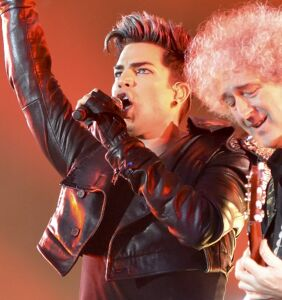 Brian May was asked if he'd make a new Queen album with Adam Lambert
