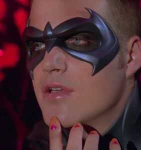 Holy heartthrob Batman! Robin just came out of the closet.