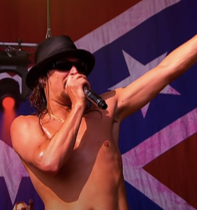 """Kid Rock forced to cancel shows after band gets COVID, rails against """"sh*t for brains"""" critics"""