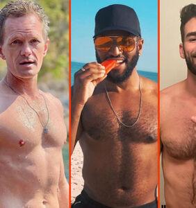 "Chris Salvatore's ""Naked"" debut, Davey Wavey's tasty jock, & Colton Underwood's furry friend"