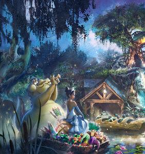 Disney makes a splash with new 'Princess and the Frog' Splash Mountain overhaul