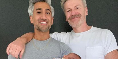 Tan France and husband become dads, reveal son was born seven weeks early