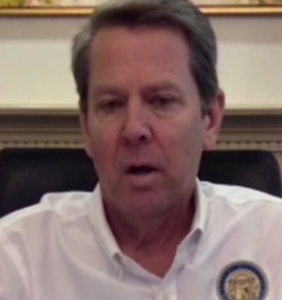 Everyone is dumbfounded by GOP Gov. Brian Kemp's latest idiotic statement