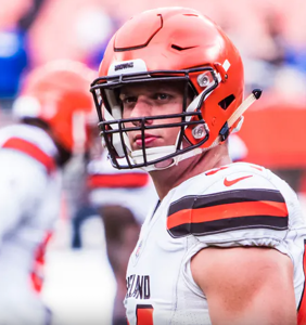 NFL player Carl Nassib made history by coming out, then led his team to victory