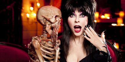 Cassandra Peterson, aka Elvira, Mistress of the Dark, comes out