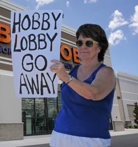The homophobes at Hobby Lobby are having a very crappy week