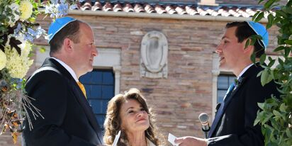 Colorado Gov. Jared Polis marries longtime partner in historic first