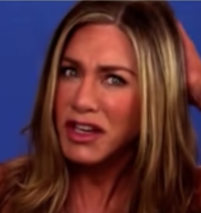 WATCH: What made Jennifer Aniston make this face in super-awkward live interview?