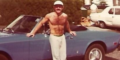 Do you recognize this hairy stud with the six-pack?