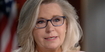 Woke Liz Cheney would like a round of applause for saying she thinks gay marriage is OK after all