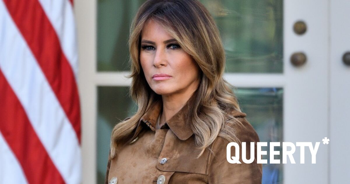 Oh man, Melania is NOT going to be happy when she sees this