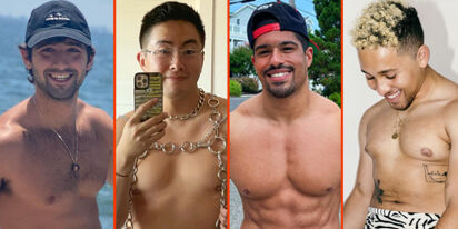 Taylor Lautner's big guns, Wilson Cruz's chiseled chest, & Bowen Yang in chains