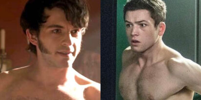 Taron Egerton and Jonathan Bailey are about to do some serious 'C*ck'