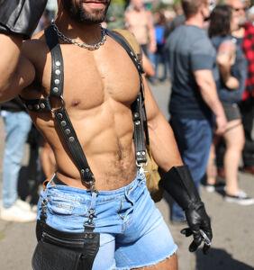 PHOTOS: Best NSFW looks from this year's Folsom Street Fair