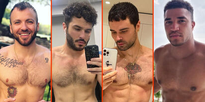 Ricky Martin's blow dry, Locky Brownlie's leather, & John Duff's beard