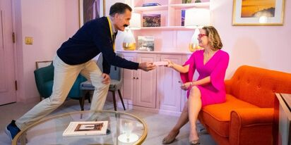 Mitt Romney and Kyrsten Sinema pose for porny-looking Halloween pic and everyone's super creeped out