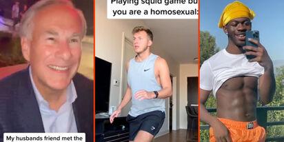 Gov. Greg Abbott's embarrassing encounter, the gay Squid Game & Lil Nax X's glistening skin