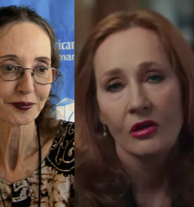 Joyce Carol Oates sees JK Rowling's transphobia and raises her an attack on nonbinary people