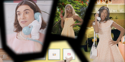 WATCH: Peppermint, Jan, Dylan Mulvaney & Nick Laughlin in 'Oraquick: The Musical'