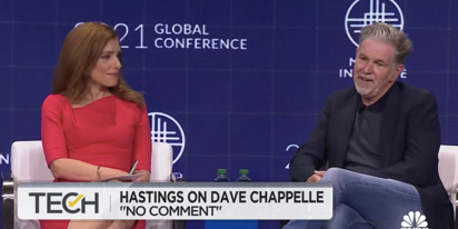 Netflix CEO refuses to discuss Dave Chappelle in pompous exchange with reporter