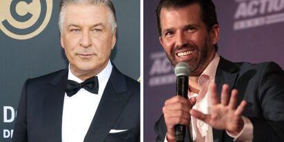 Don Trump Jr. rushes to take advantage of Alec Baldwin's movie set tragedy