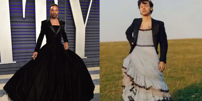 Billy Porter has strong thoughts about Harry Styles wearing dresses