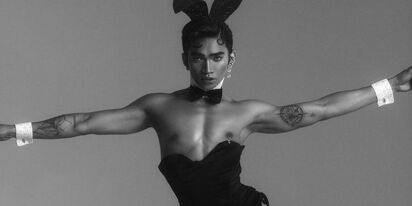 Gay, male beauty influencer Bretman Rock graces cover of Playboy magazine