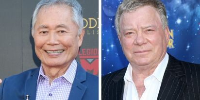 George Takei throws shade at William Shatner over his trip to space