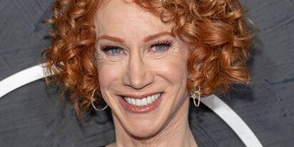 "Kathy Griffin has perfect response to anti-vaxxer who says ""mandate"" sounds gay"