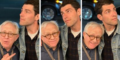 Leslie Jordan asked TV hunk Max Greenfield to marry him. He turned him down.