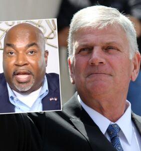 Franklin Graham praises North Carolina Lt. Gov. who called gay people 'filth'