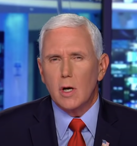 """Mike Pence says it's impolite to """"demean"""" Trump supporters who sh*t all over the Capitol floors"""
