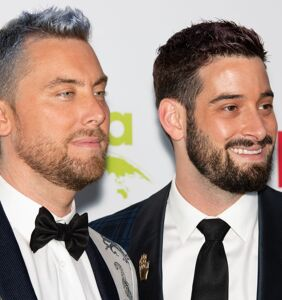 It's official: Lance Bass is a daddy