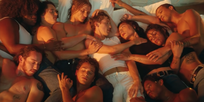 """Troye Sivan's steamy """"Angel Baby"""" video is a queer Renaissance painting come to life"""