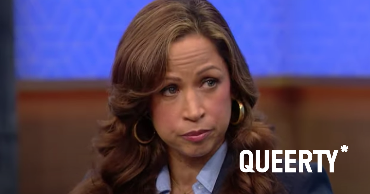 Stacey Dash says pill addiction temporarily made her a homophobe but she's better now